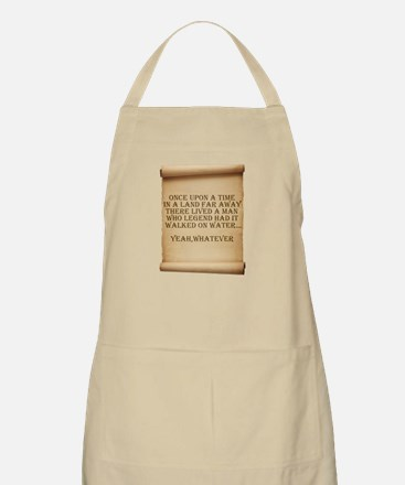 Offensive atheist saying BBQ Apron