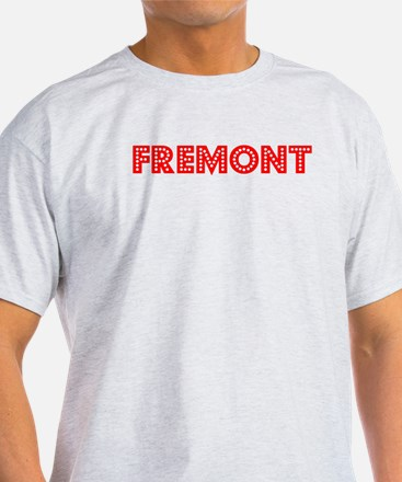 Retro Fremont (Red) T-Shirt