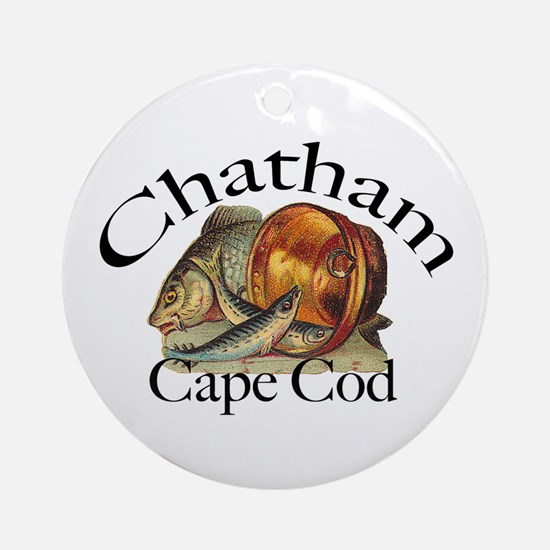 """Chatham"" Keepsake/Round Ornament"