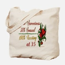 Exciting 35th Tote Bag