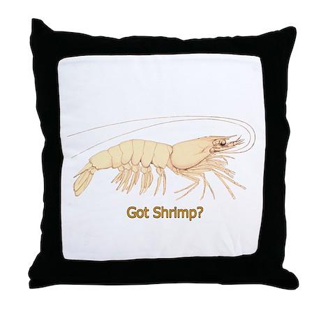 Got Shrimp? Throw Pillow