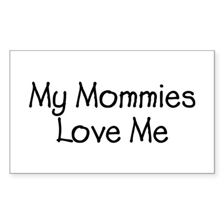 Mommies Rectangle Sticker