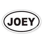 JOEY Euro Oval Sticker