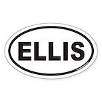 ELLIS Euro Oval Sticker