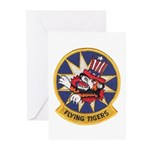 Flying Tigers Greeting Cards (Pk of 10)