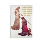 Nine Words Rectangle Magnet (100 pack)