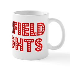 Retro Garfield Hei.. (Red) Mug