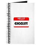 HELLO, MY NAME IS GIGGLES Journal