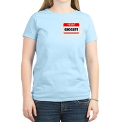 HELLO, MY NAME IS GIGGLES T-Shirt