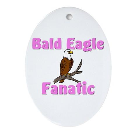 Bald Eagle Fanatic Oval Ornament