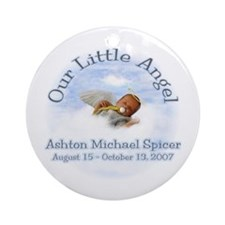 Ashton 3 Ornament (Round)