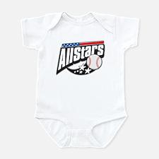 Baseball All Stars Infant Bodysuit