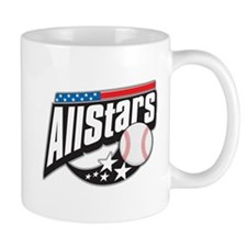 Baseball All Stars Small Mug