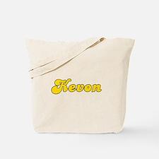 Retro Kevon (Gold) Tote Bag