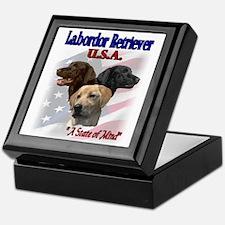 Labrador Retriever Gifts Keepsake Box