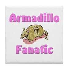 Armadillo Fanatic Tile Coaster
