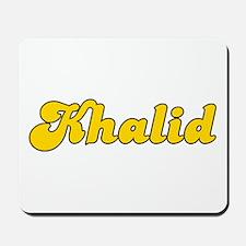 Retro Khalid (Gold) Mousepad
