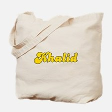 Retro Khalid (Gold) Tote Bag