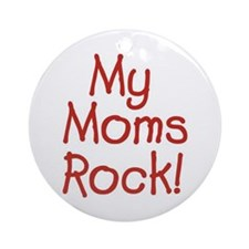 Moms Rock Keepsake (Round)