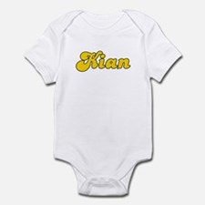 Retro Kian (Gold) Infant Bodysuit