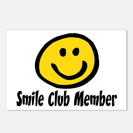 SMILE CLUB MEMBER Postcards (Package of 8)