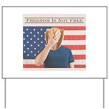 Freedom Yard Sign