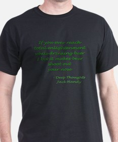 Unique Deep thoughts T-Shirt