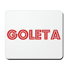 Retro Goleta (Red) Mousepad