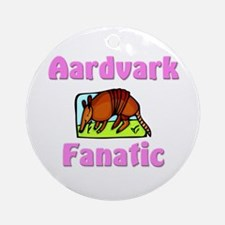 Aardvark Fanatic Ornament (Round)