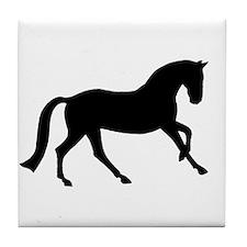 Cantering Horse Tile Coaster