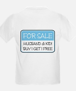 4SALE HUSB/KID (blue) T-Shirt