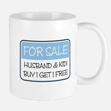 4SALE HUSB/KID (blue) Mug