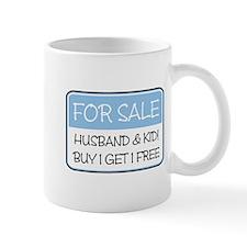 4SALE HUSB/KID (blue) Mug