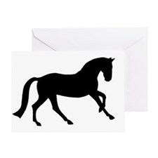 Cantering Horse Greeting Card