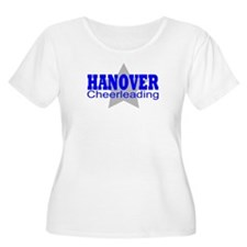 Hanover Starz Women's Plus Size T-Shirt (White)
