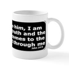 Bible verse John 14:6 Small Mug