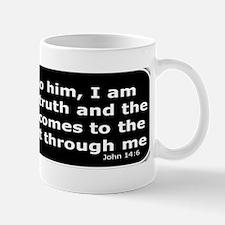 Bible verse John 14:6 Small Small Mug