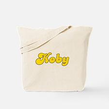 Retro Koby (Gold) Tote Bag