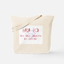 Funny Supergirl Tote Bag