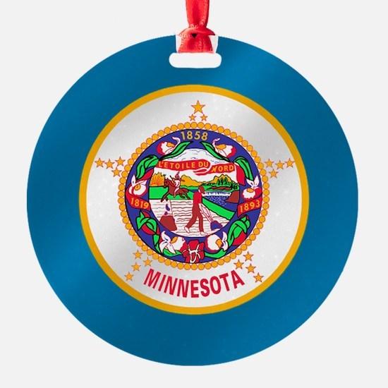 Flag of Minnesota Ornament