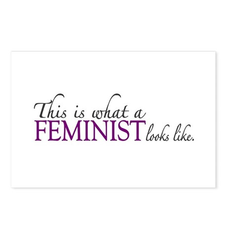 What a Feminist Looks Like Postcards (Package of 8