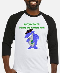 Shark Accountant Baseball Jersey