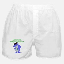 Shark Accountant Boxer Shorts