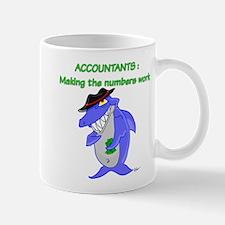 Shark Accountant Mug