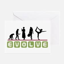 Evolve Yoga Greeting Card