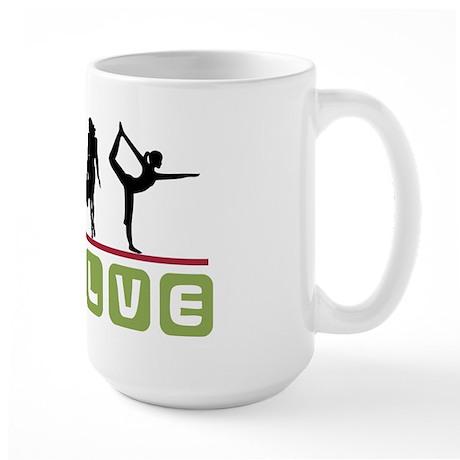 Evolve Yoga Large Mug