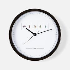 Pride ASL Wall Clock