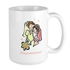 Congratulations Gay Wedding 1 Mug