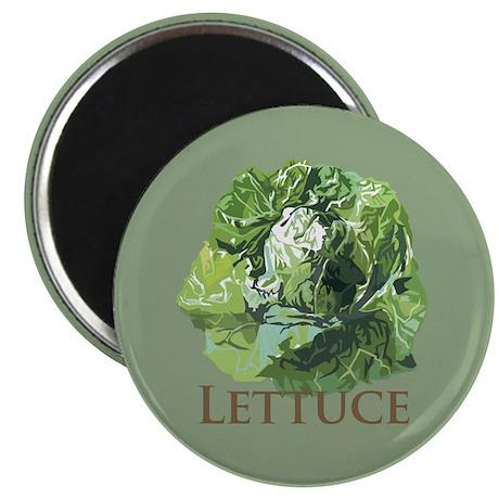 """Leafy Lettuce 2.25"""" Magnet (100 pack)"""