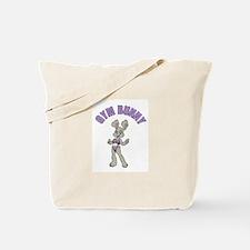 Gym Bunny Girl Tote Bag